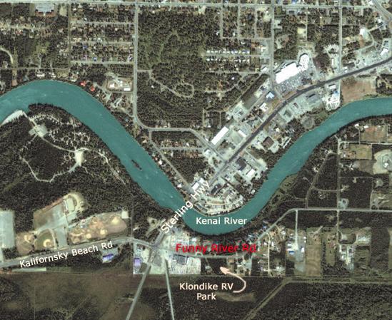 Soldotna Aerial Map